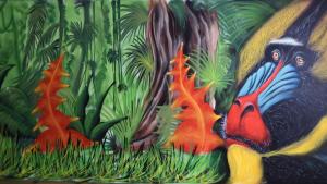 Dschungel-Lounge